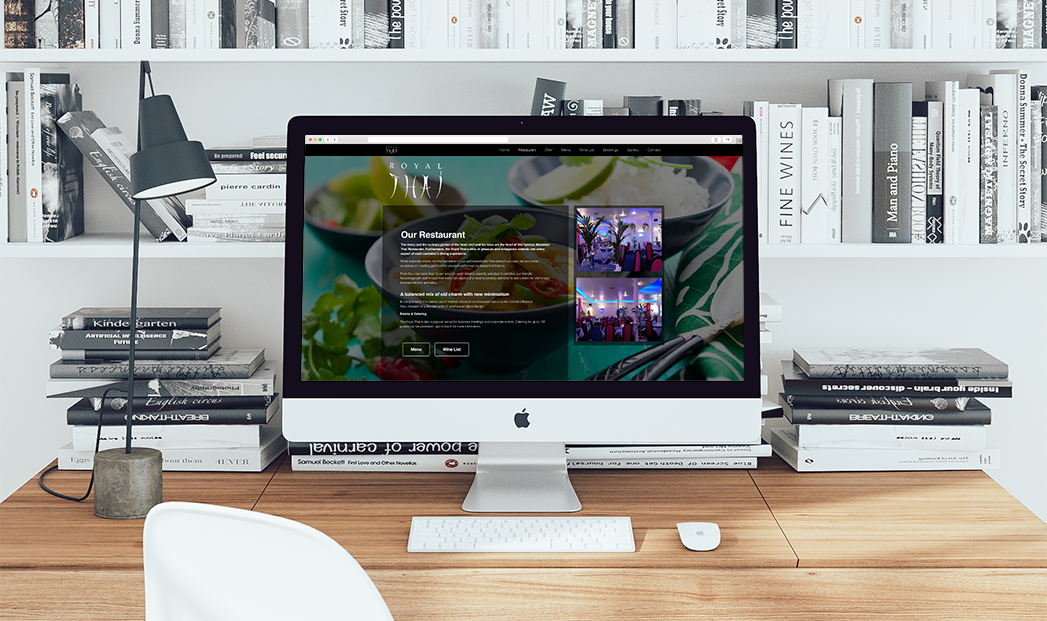 Royal Thai aberdeen responsive website design by web balance ltd