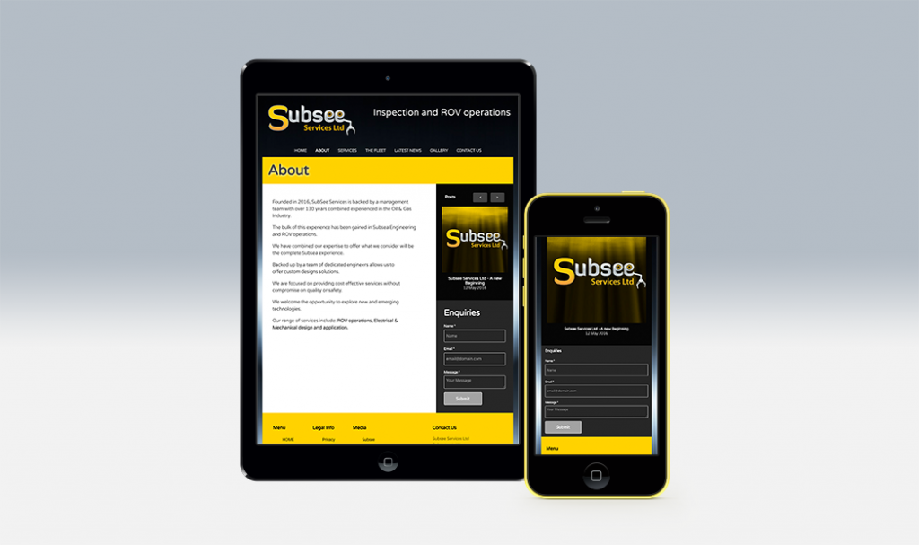Subsee aberdeen responsive website design by web balance ltd
