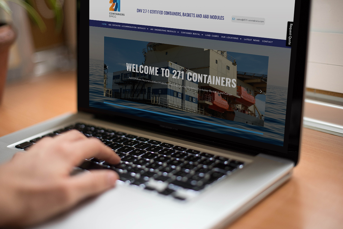 271 Containers - laptop